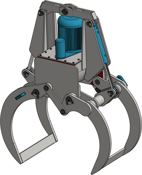Chwytak hydrauliczny