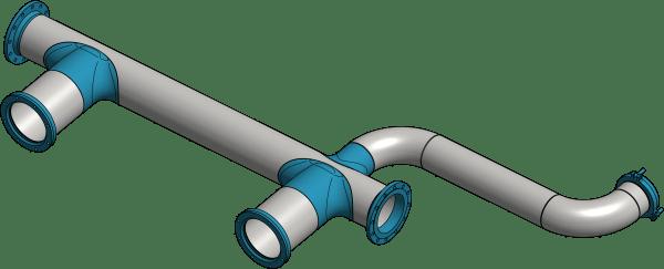 Rurociągi i elementy orurowania
